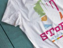 SToPP 5k Run & Walk Branding